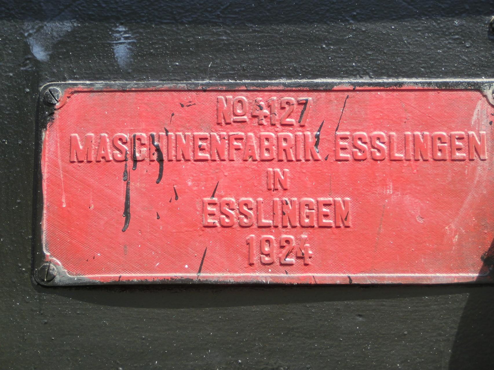 Aus Esslinga ...