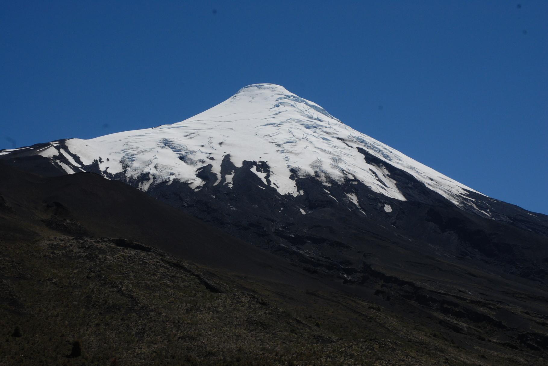 und einmal Osorno ganz nah