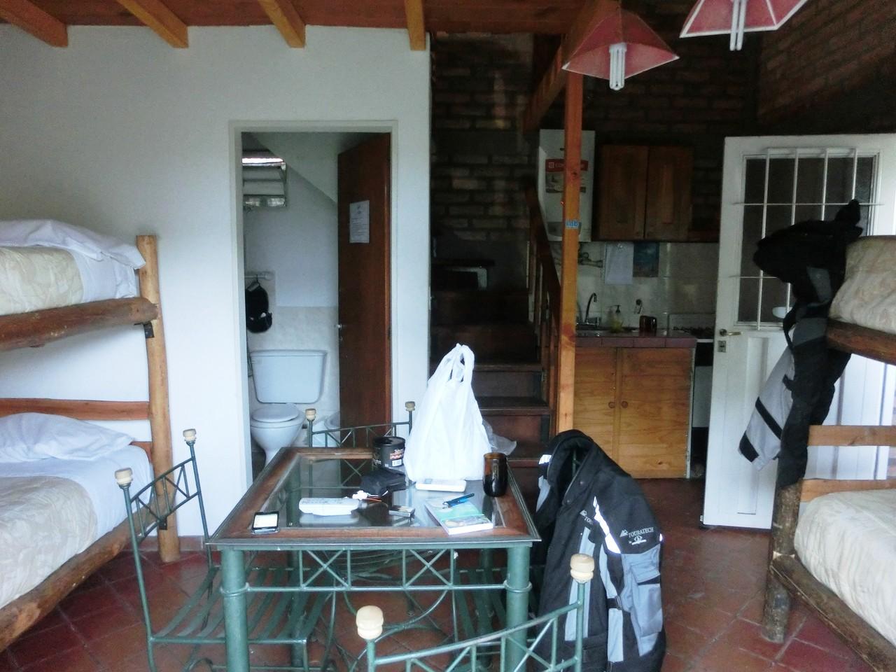 Unsere Unterkunft in La Rioja EG