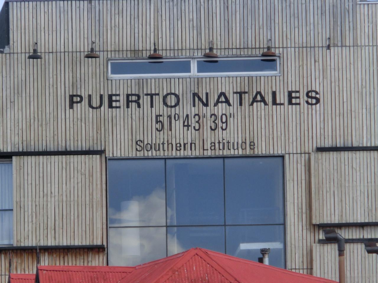 Puerto Natales, leicht zu finden