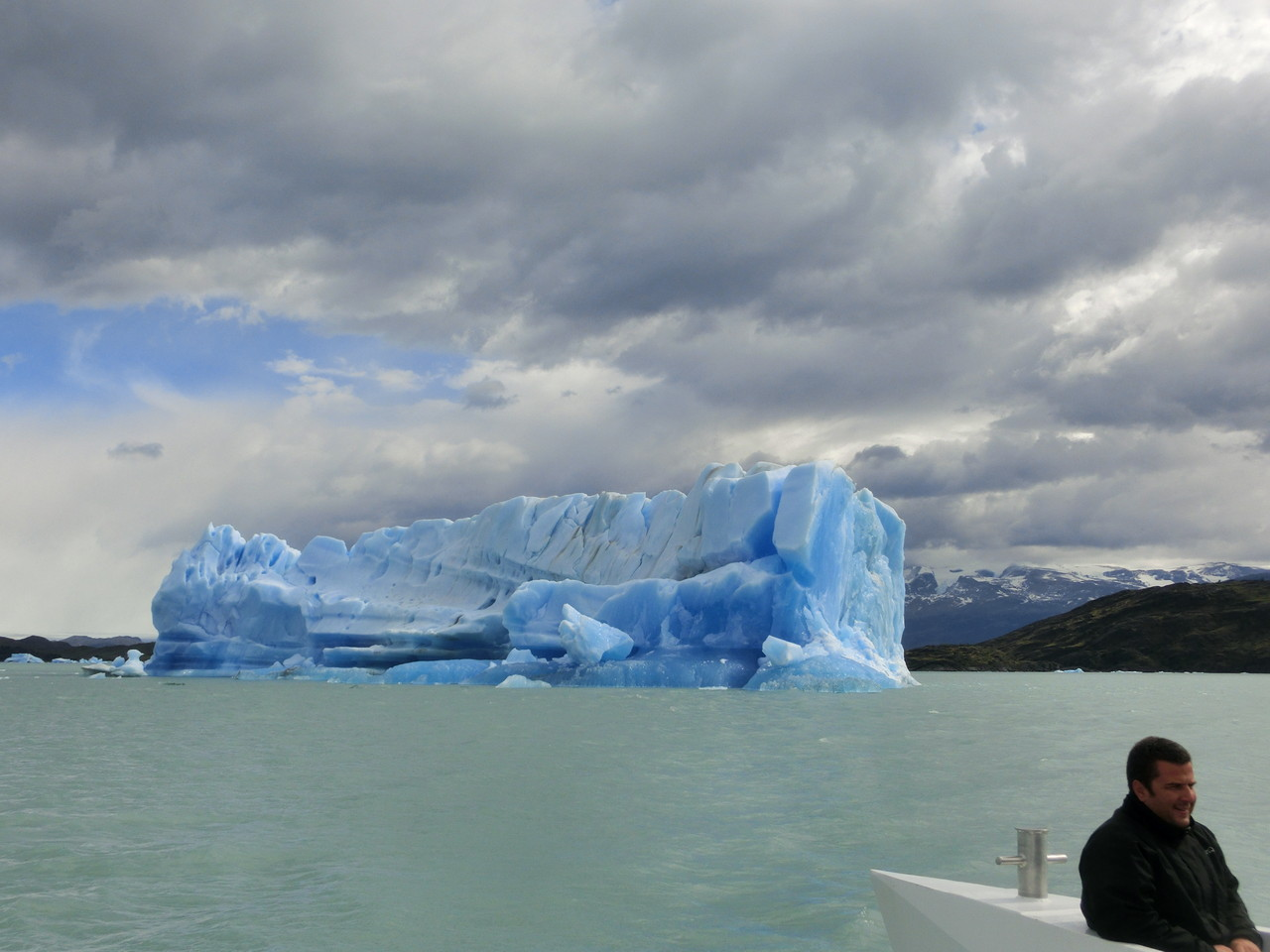 Eisberg voraus .... !