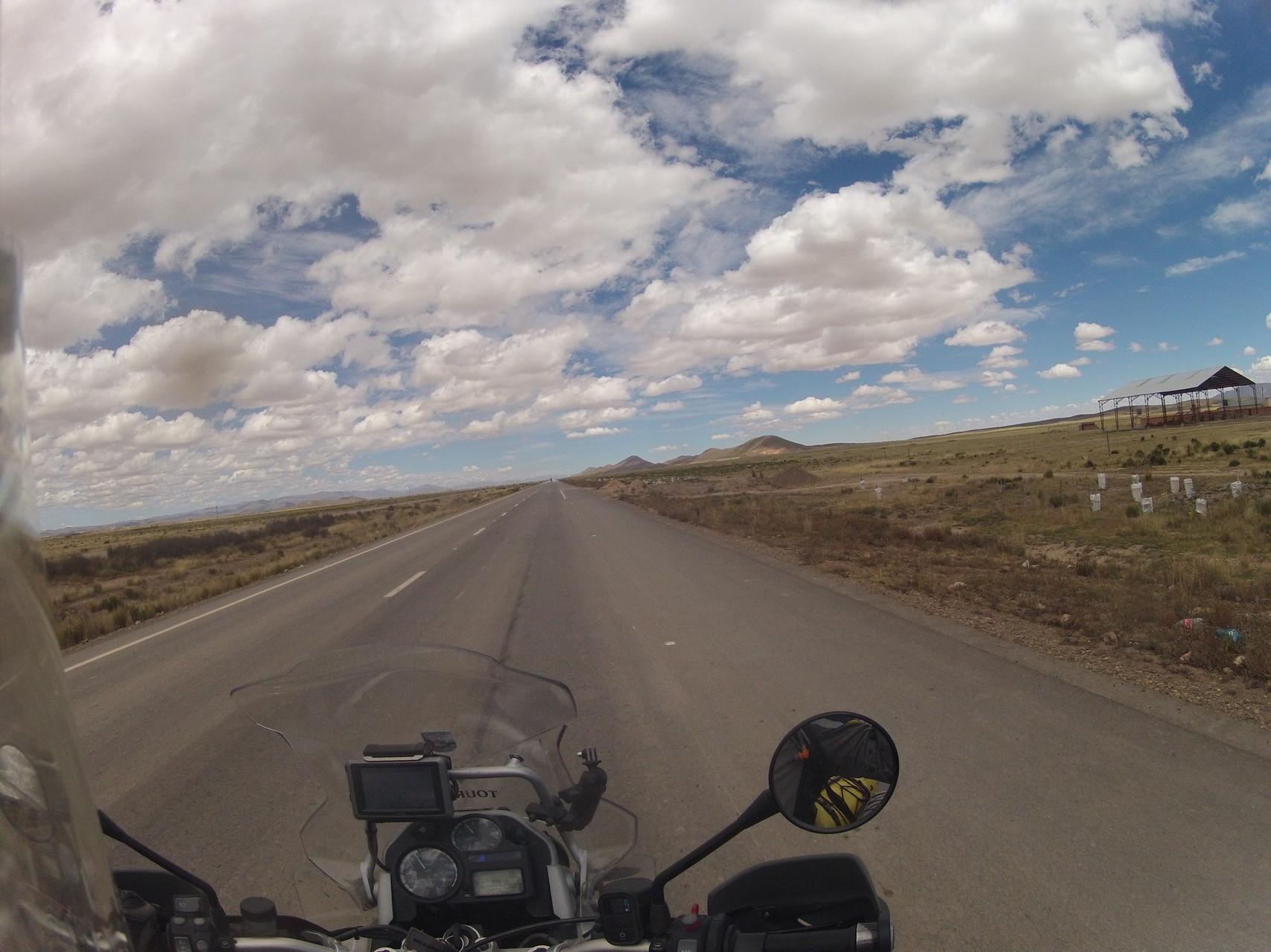 ... beim Fahren von La Paz nach Oruro