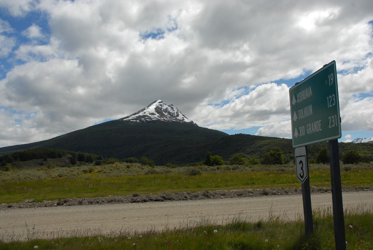 Wir wissen nicht, wie der Berg heißt ... aber schön war er