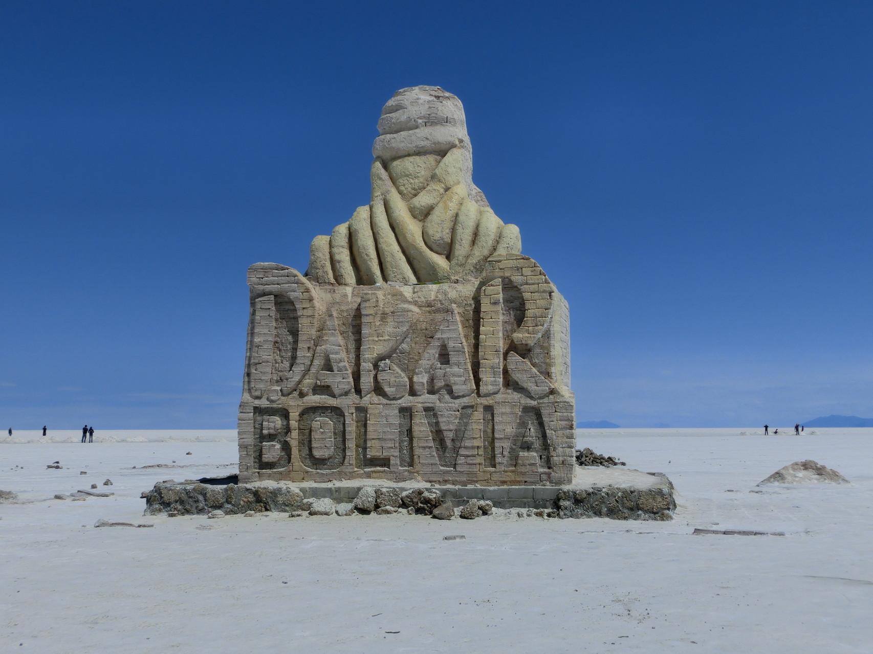 Hier kam sie dann schon vorbei ... die Dakar