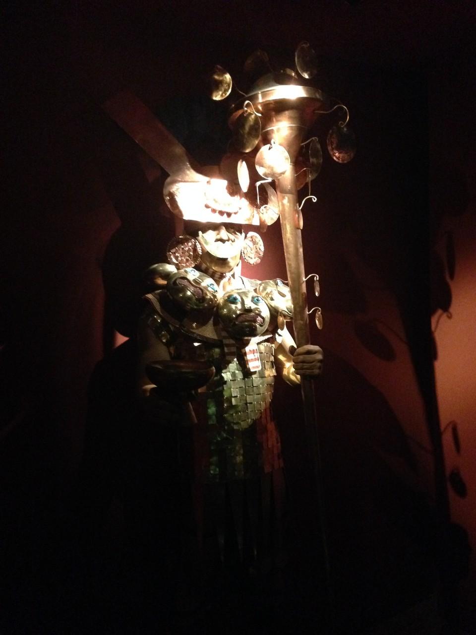 Der alte Herrscher von Sipan