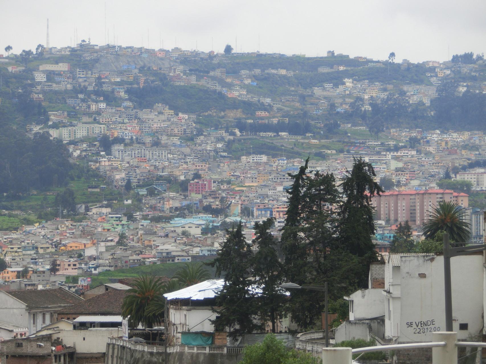 """Quito ist von Bergen und Vulkanen """"umzingelt"""""""