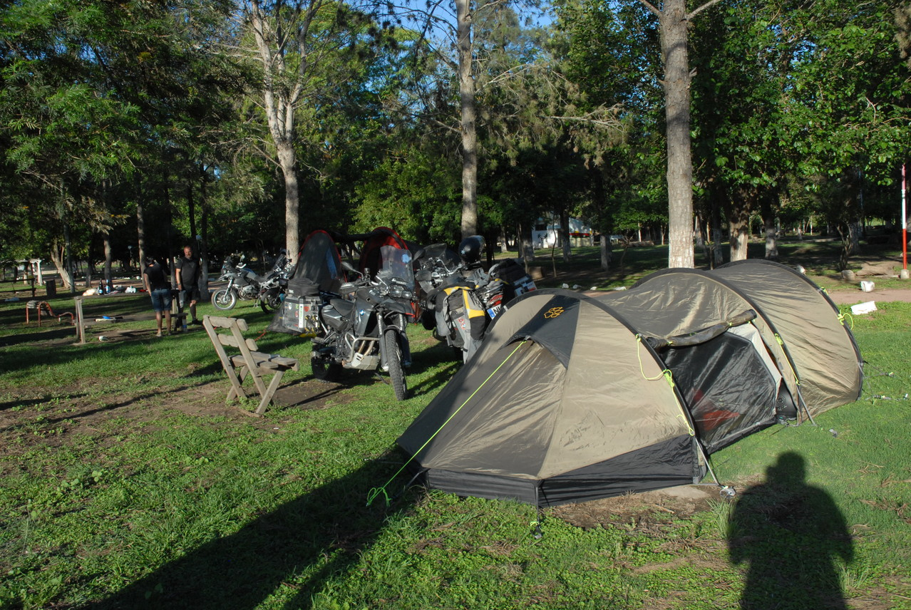 First Camping in Southamerica