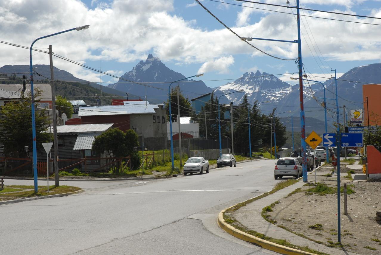 Aussicht vom Hostel in Richtung Rio Grande