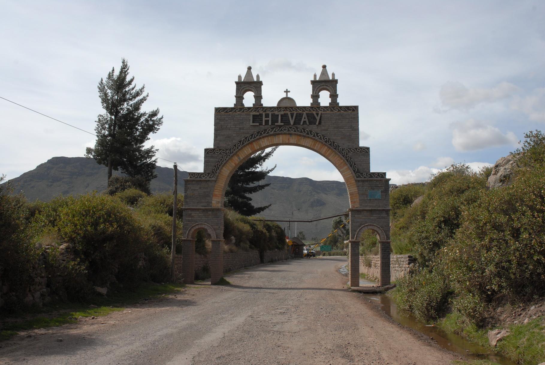 In CHivay angekommen