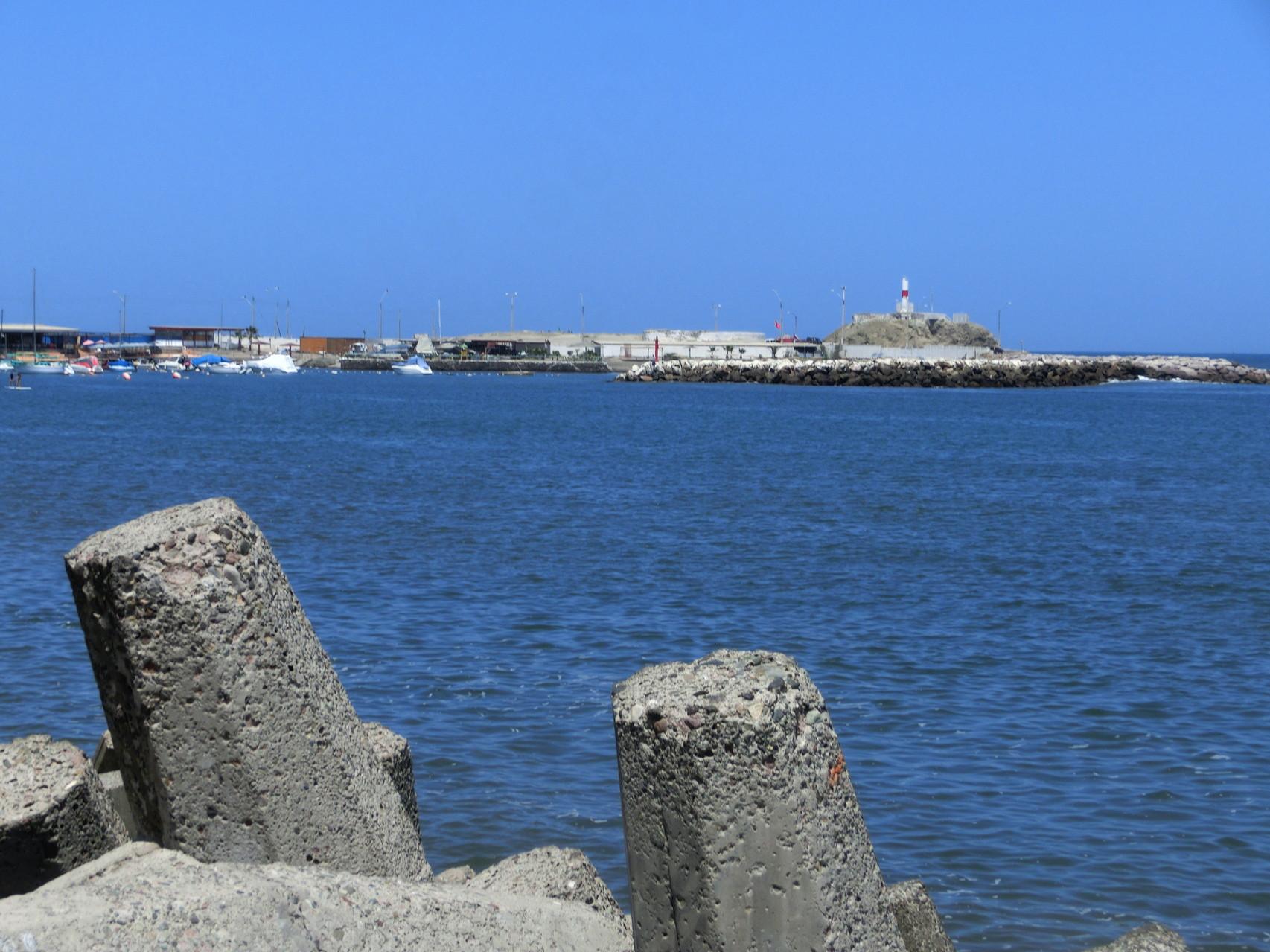 Der Hafen von Arica