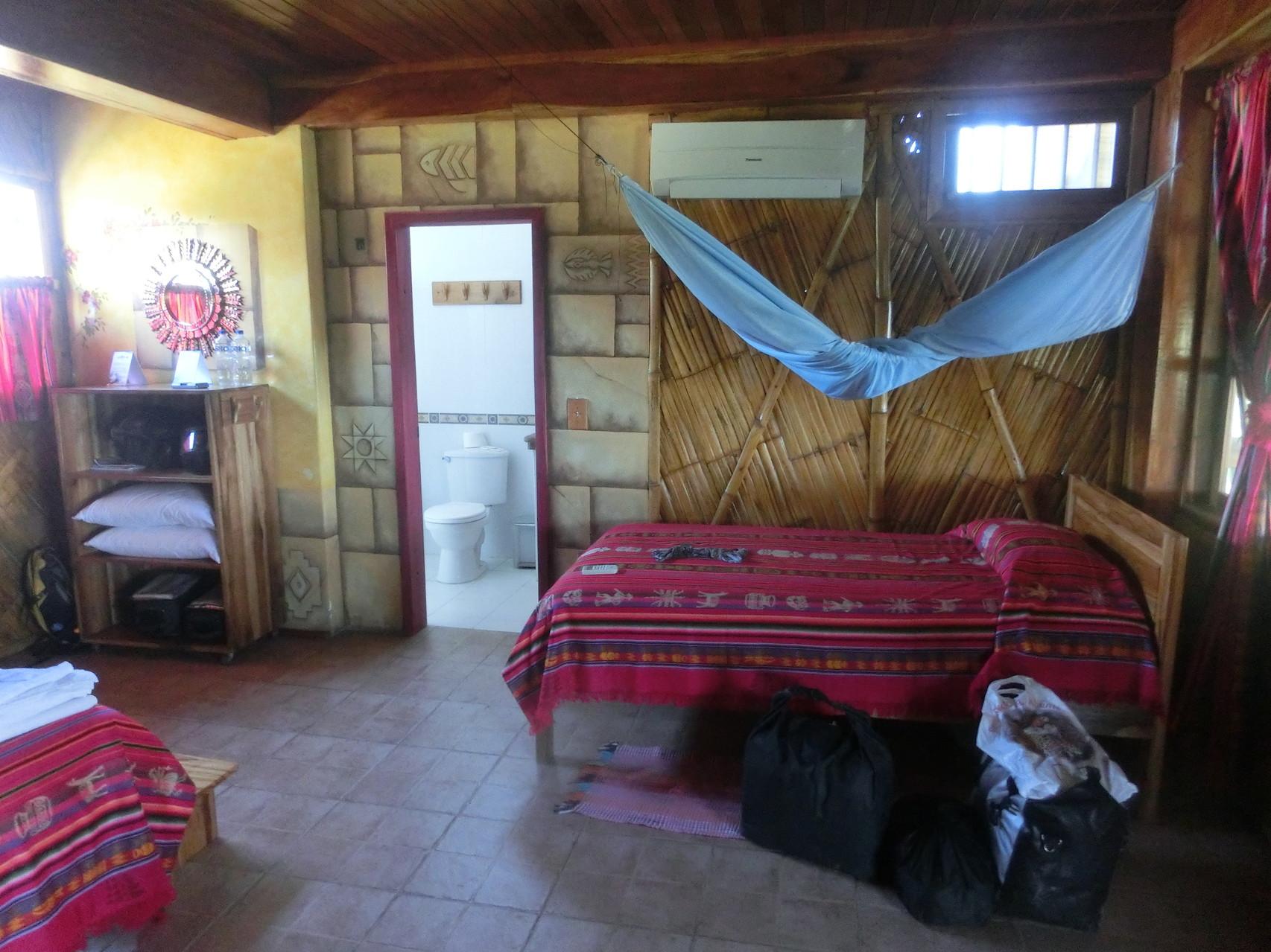 Das Bambuszimmer ...