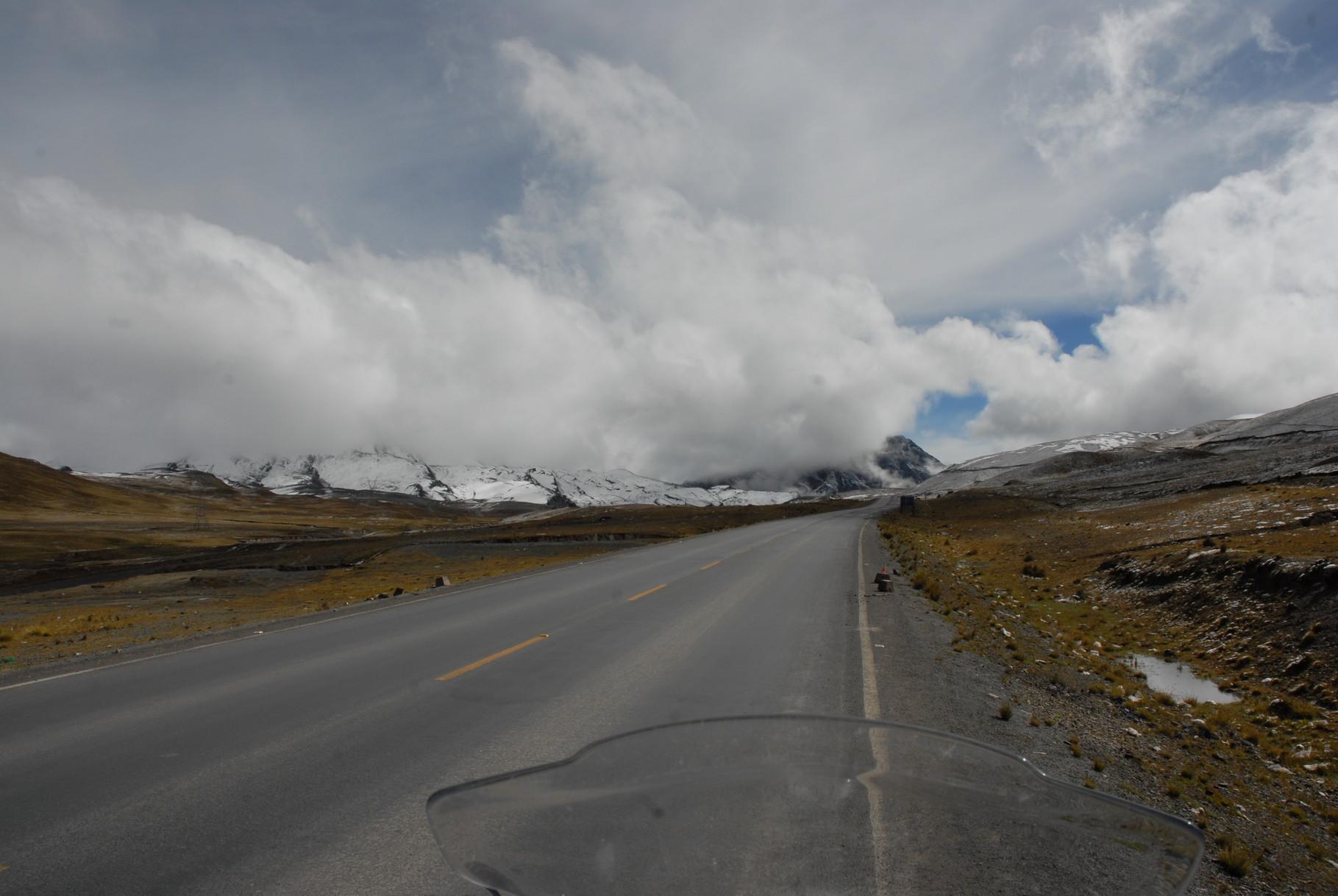Auf der Anfahrt nach La Paz