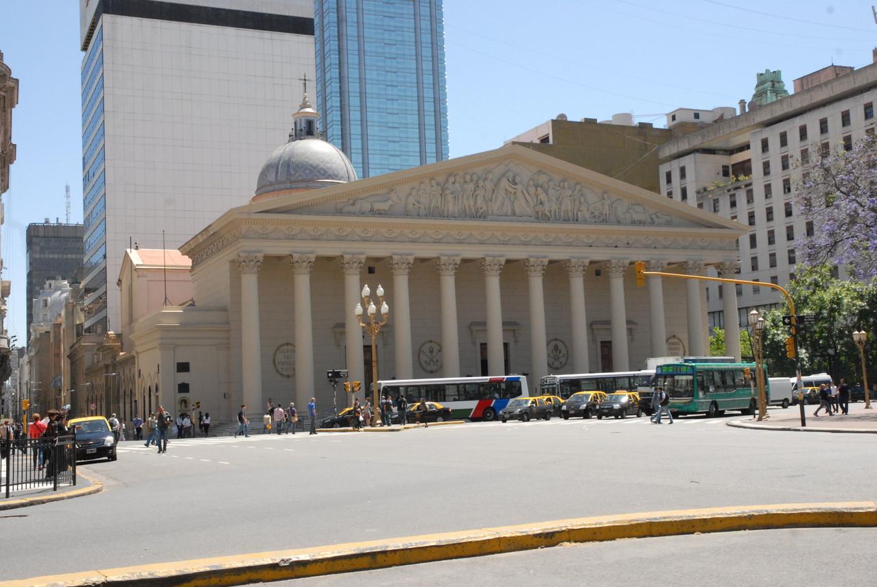 Die Kathedrale von Buenos Aires
