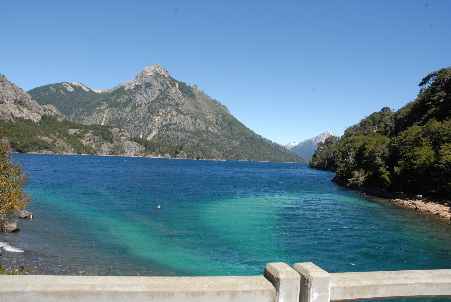 Am Lago Nahuel Huapi bei Bariloche