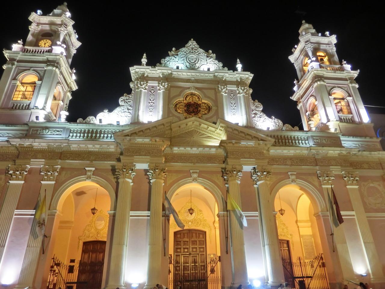 Die Katedrale von Salta