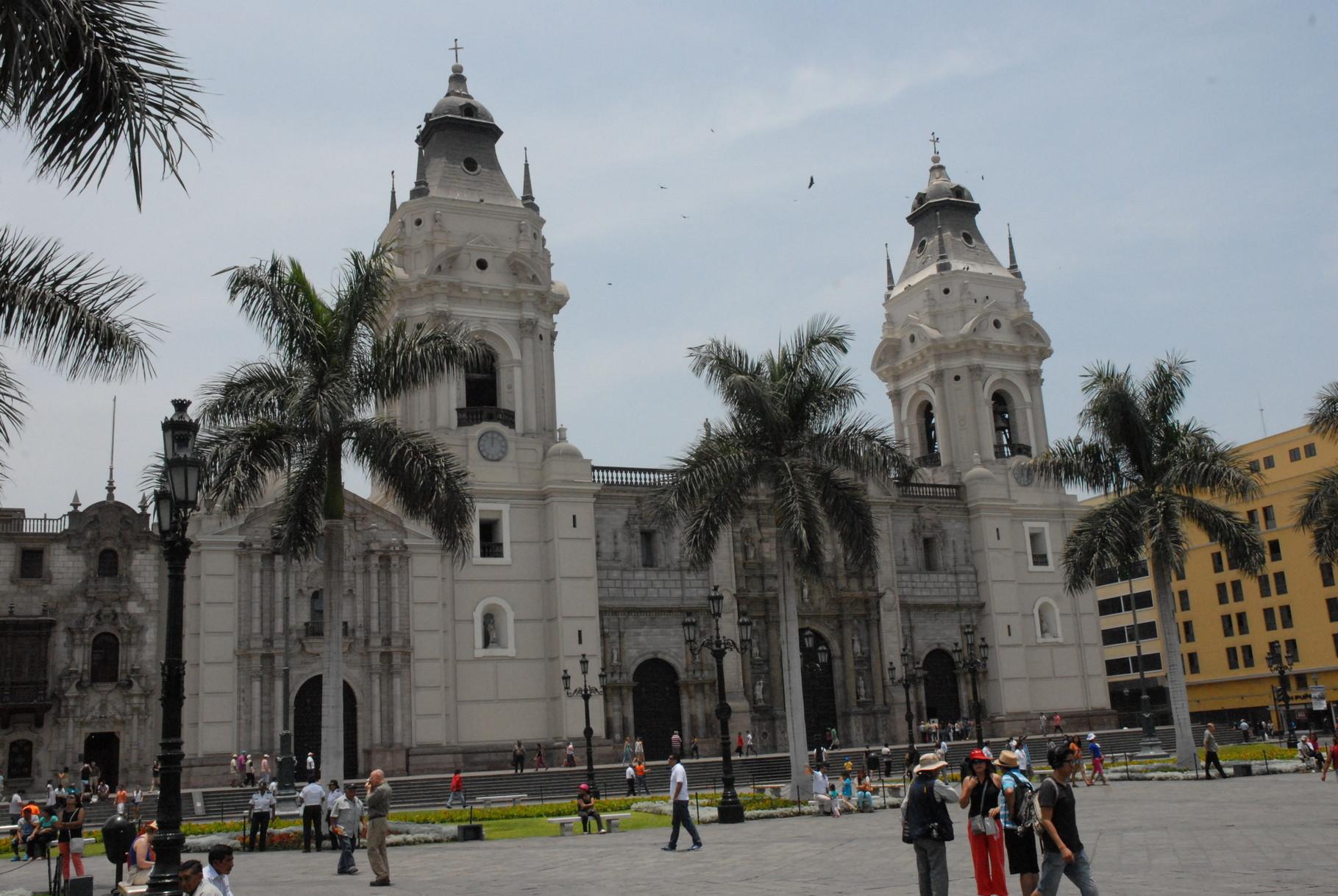Die Kathedrale von Lima