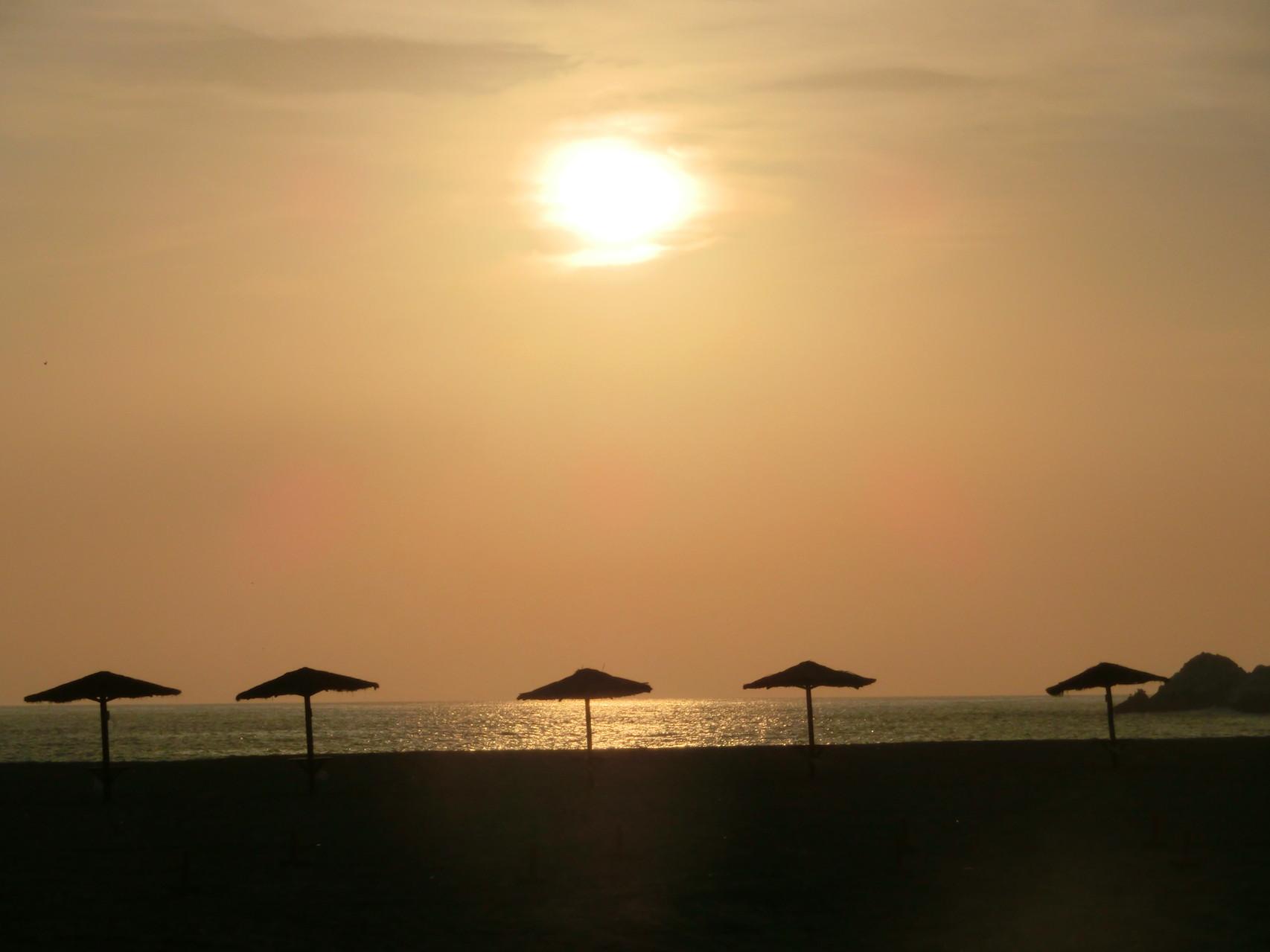 Sundown ...