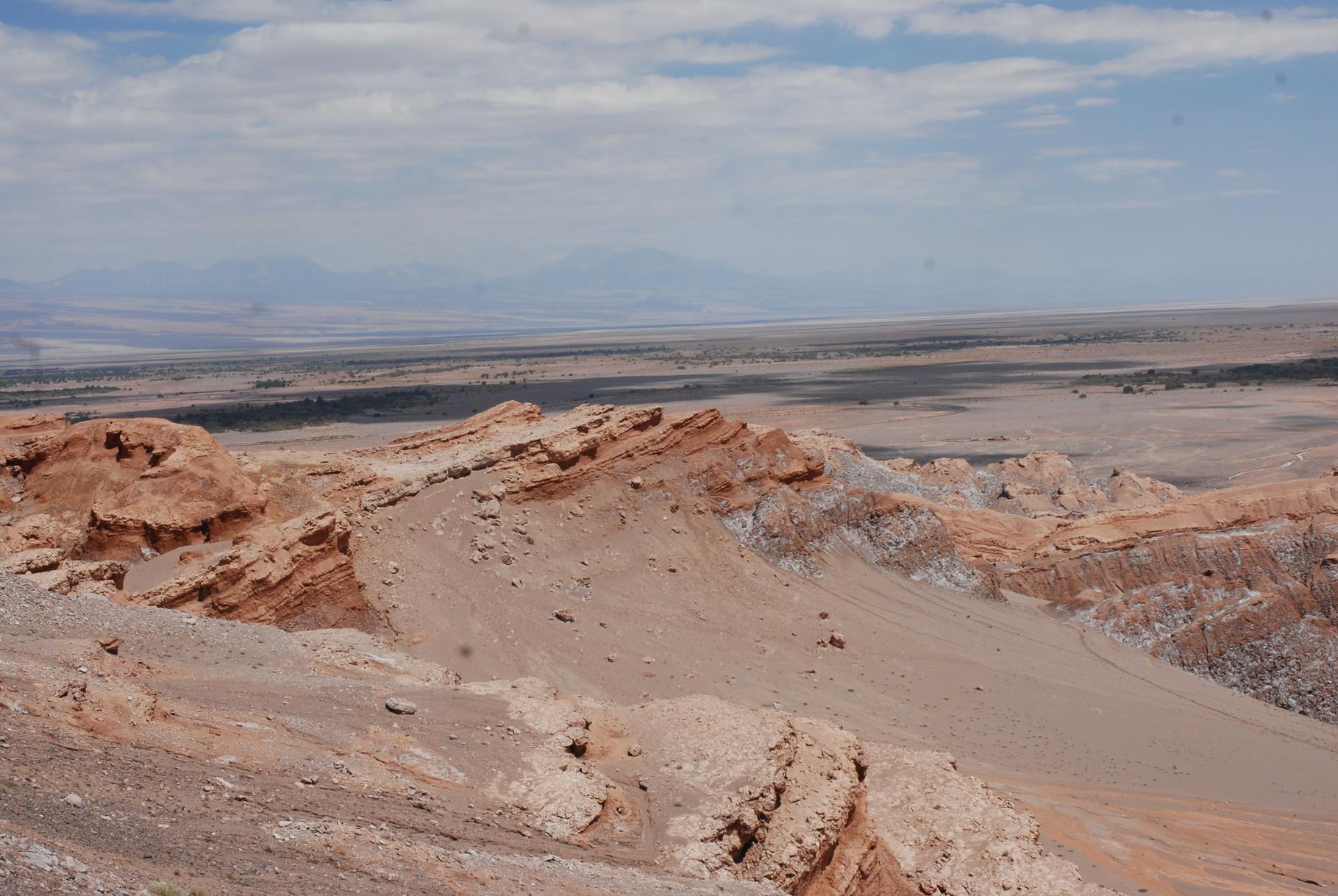 Kurz vor San Pedro de Atacama ...