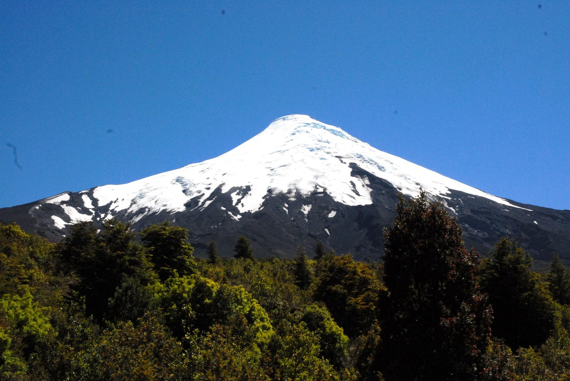 und der Volcano aus der Nähe
