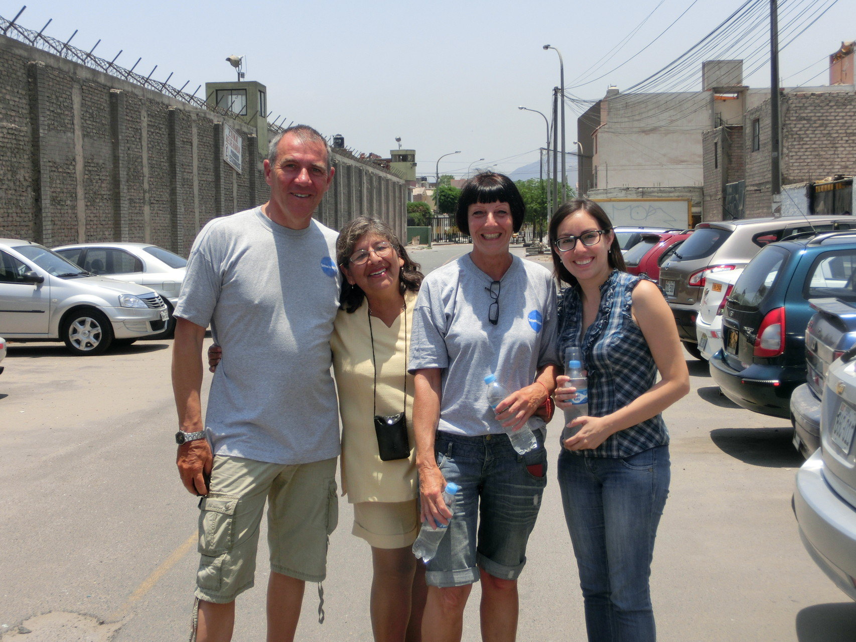 Alf, Anita, Rosi und Sandra