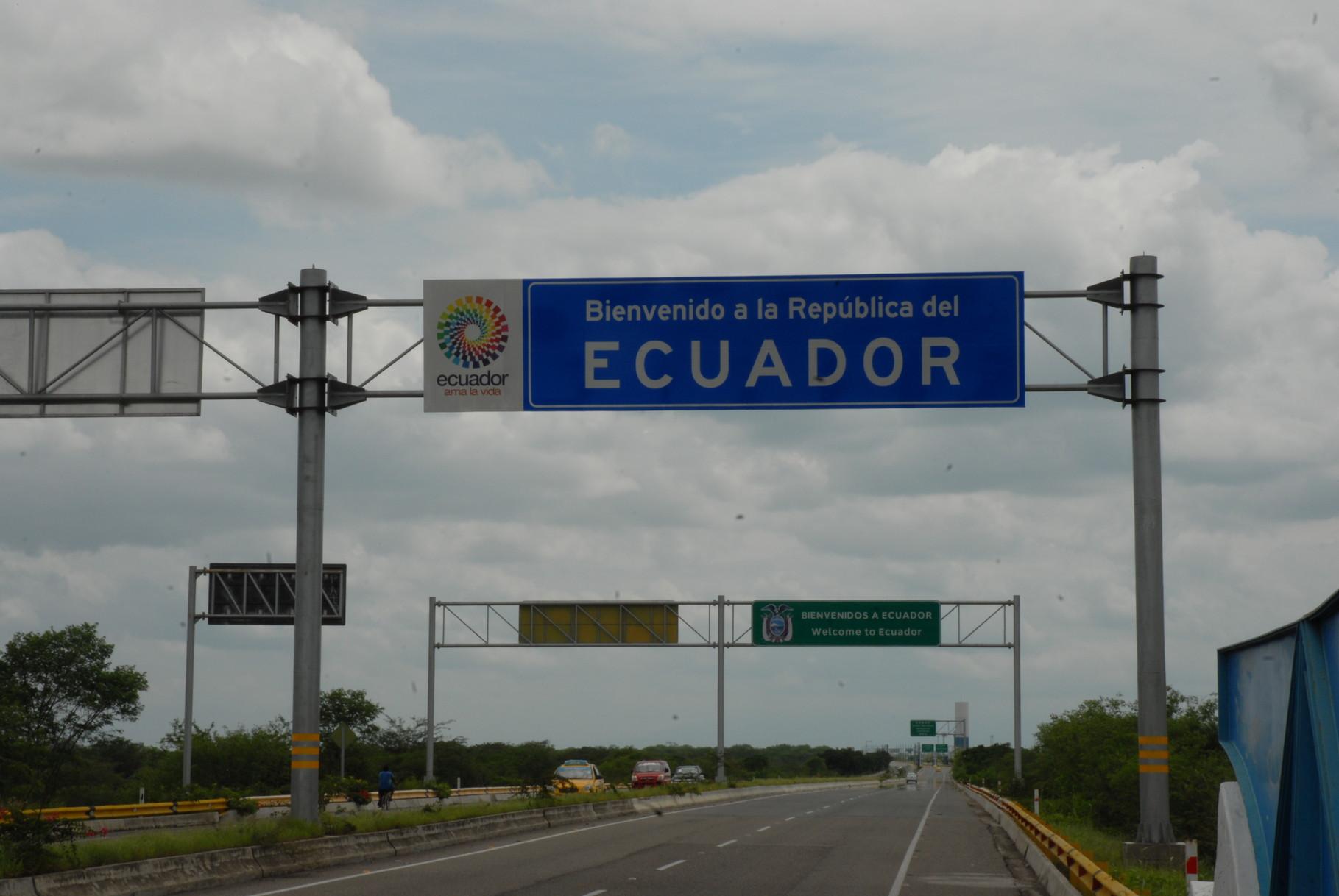 Ecuador ... wir kommen