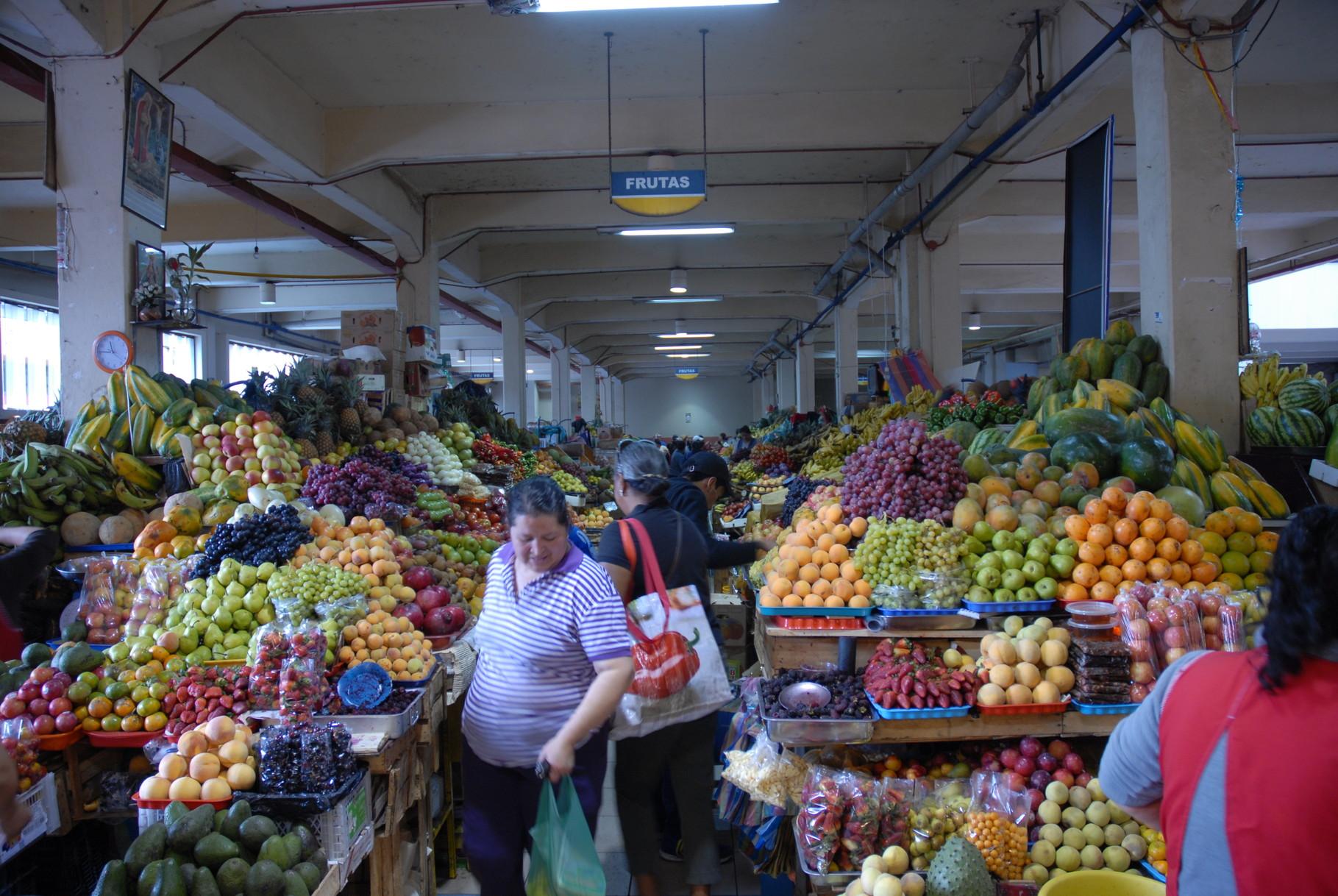 Auf dem Markt ...