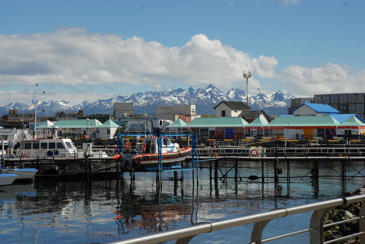Im Hafen von Ushuaia