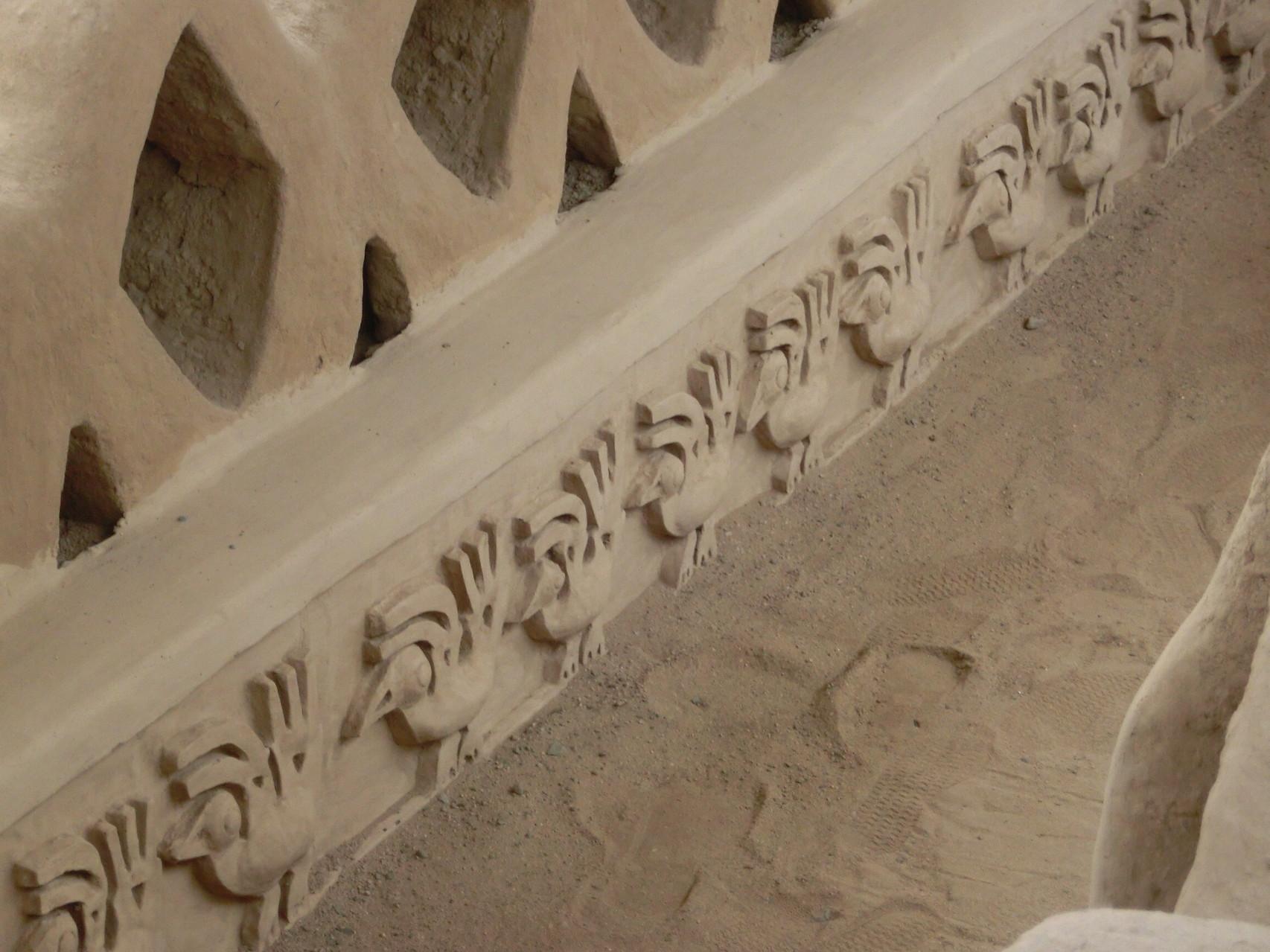 Nochmals die schönen Reliefs im Detail