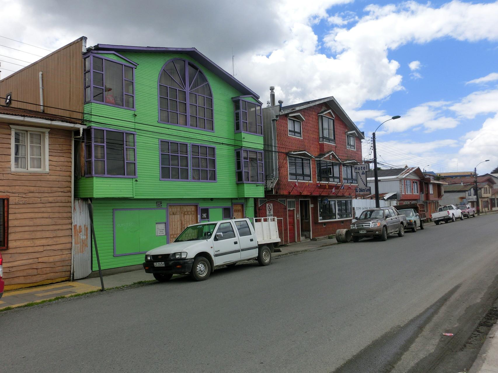 Bunte Häuser in allen Farben