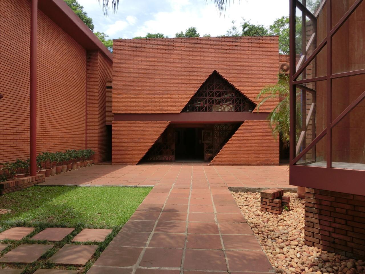 Der Innenhof des Museo