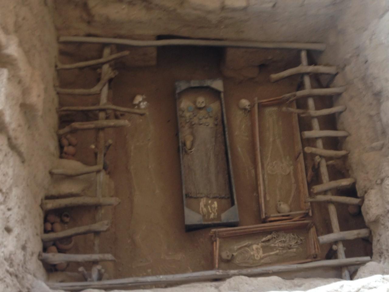 Das Grab des Hohepriesters