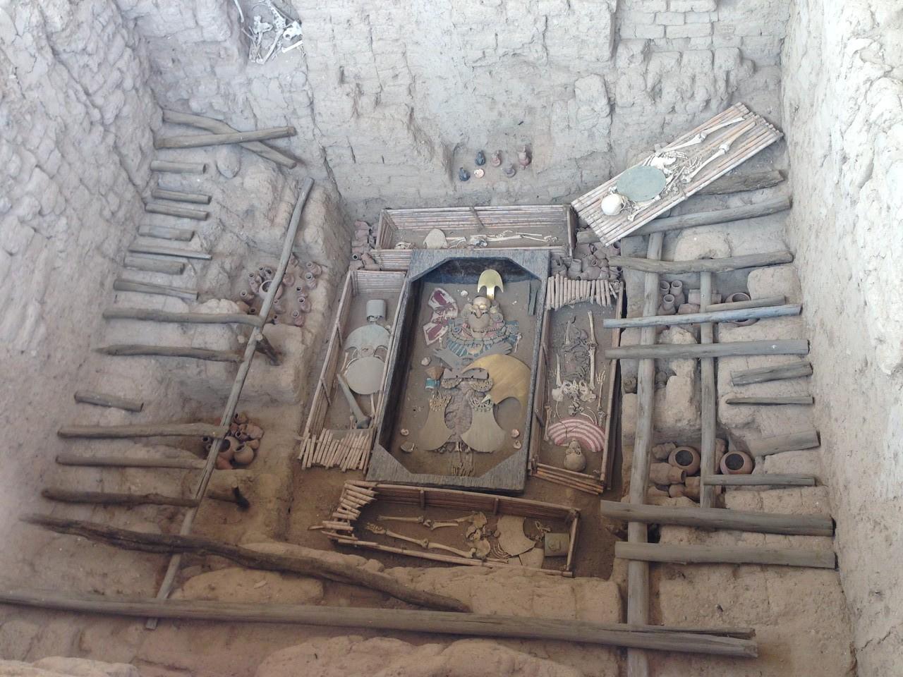 Das Grab des Señor de Sipán