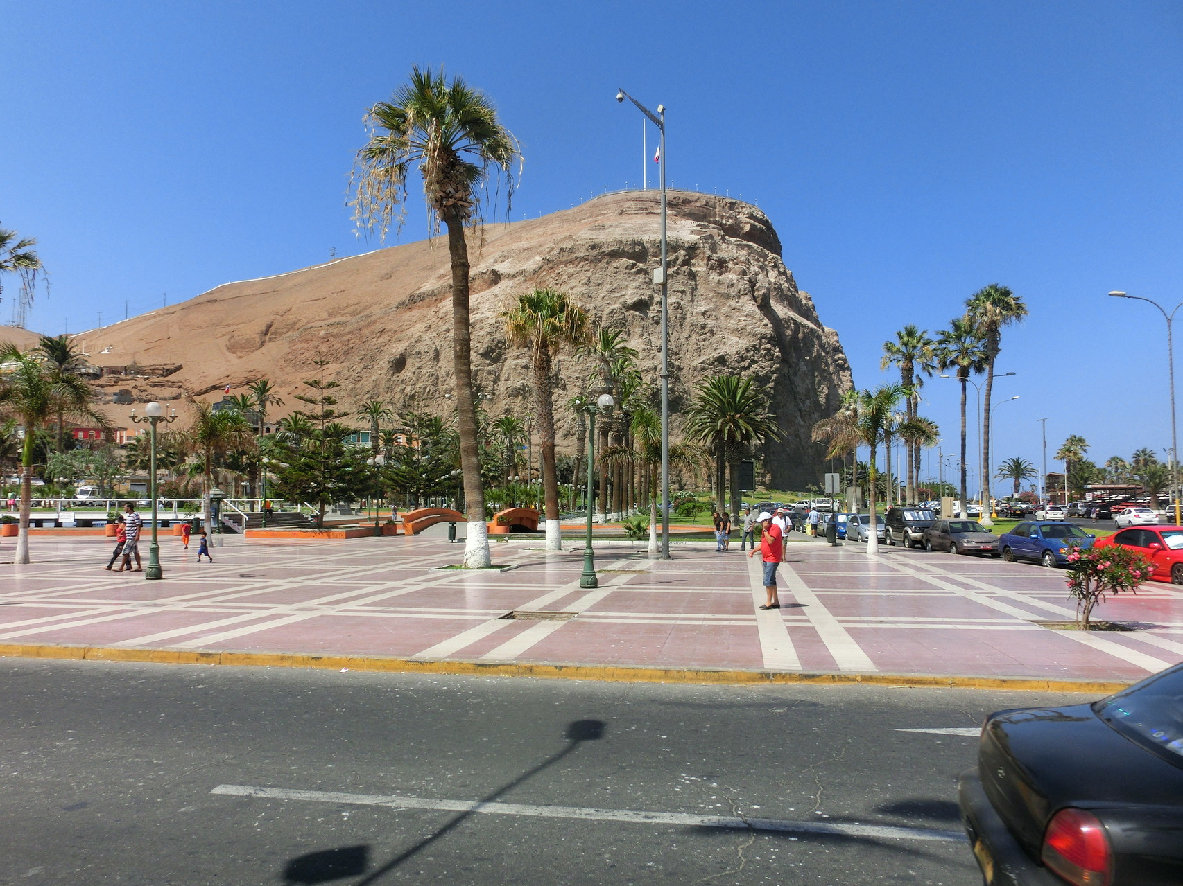 Nochmals die Plaza mit dem Morro