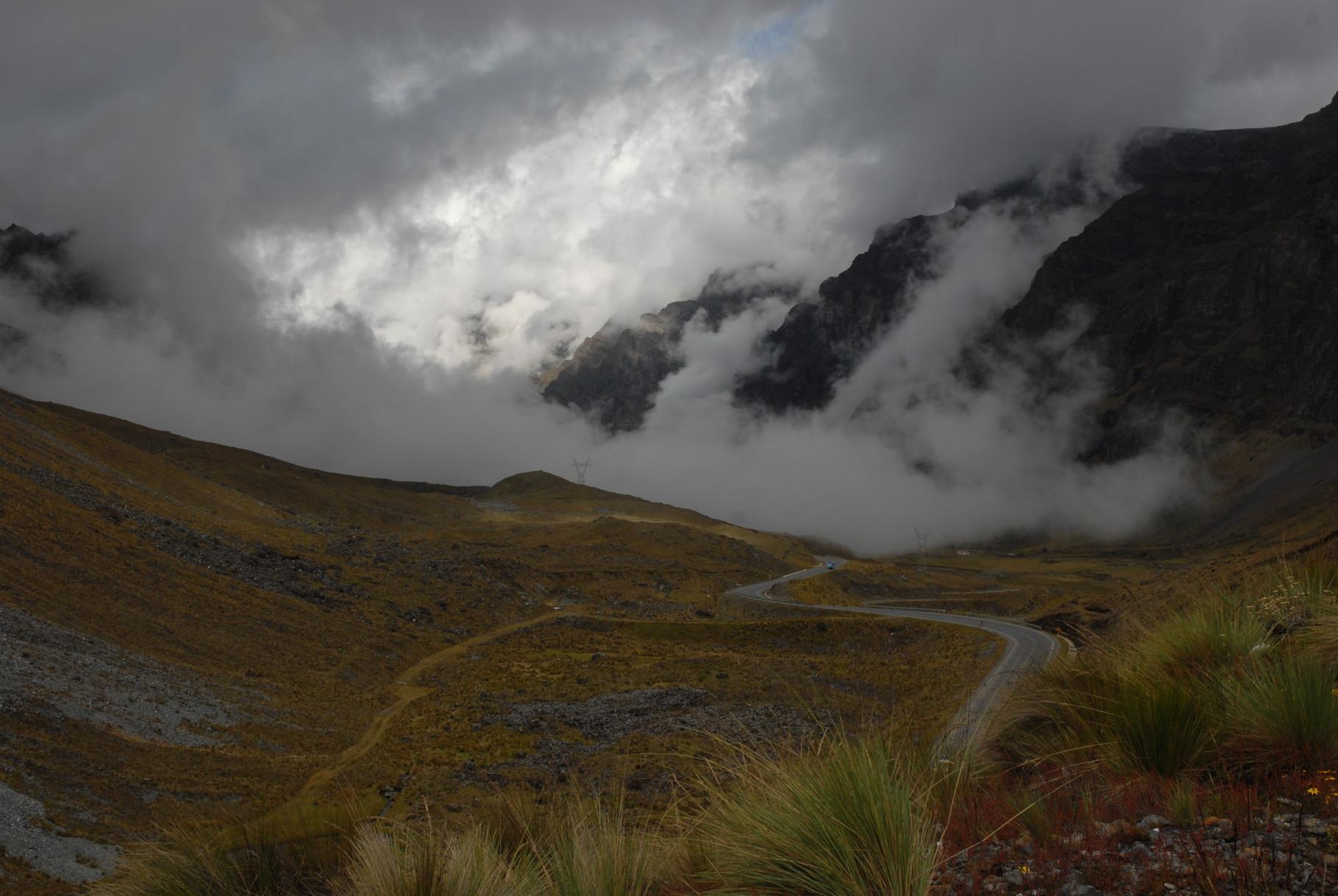 ... und produzierte geile Wolkenszenarien ind den bergen