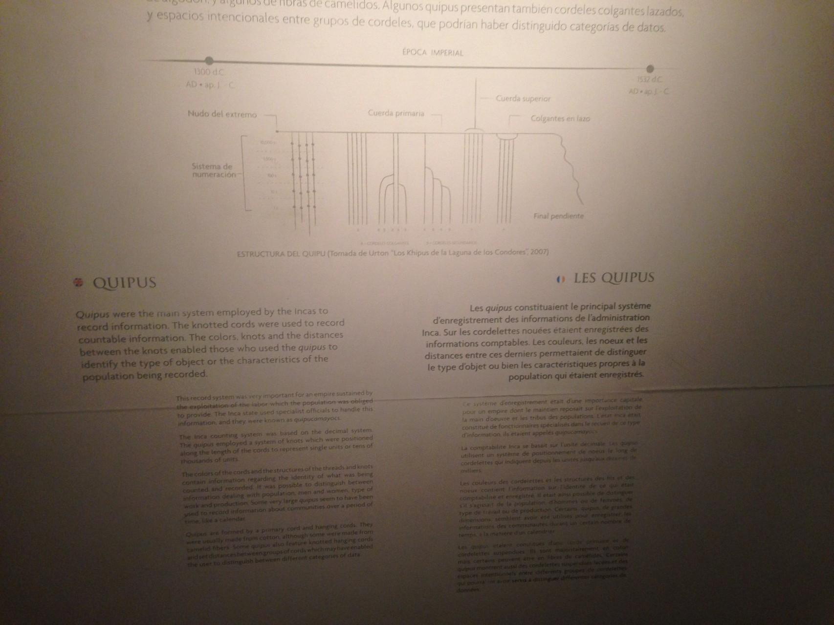 Erklärung der Knotenschnüre