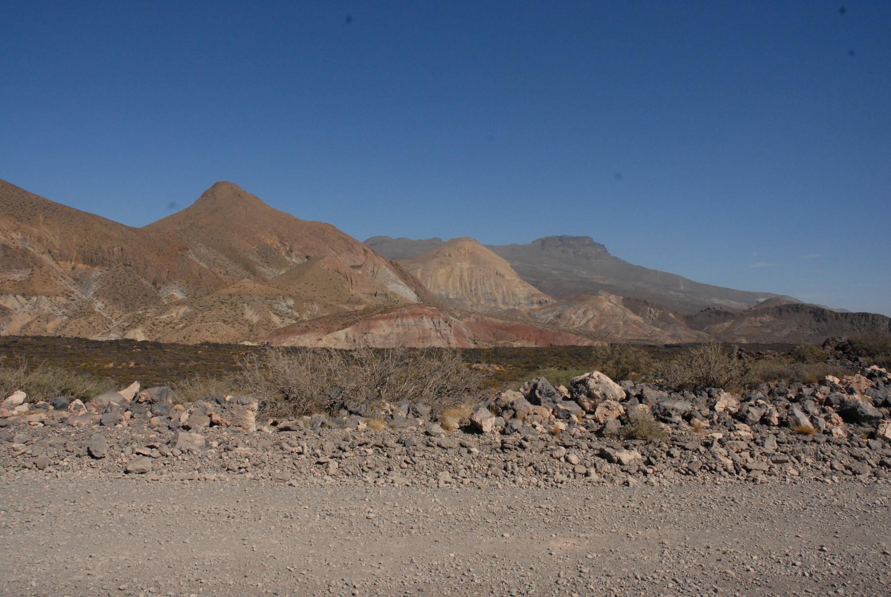 Blick auf die Sierra de Cochico
