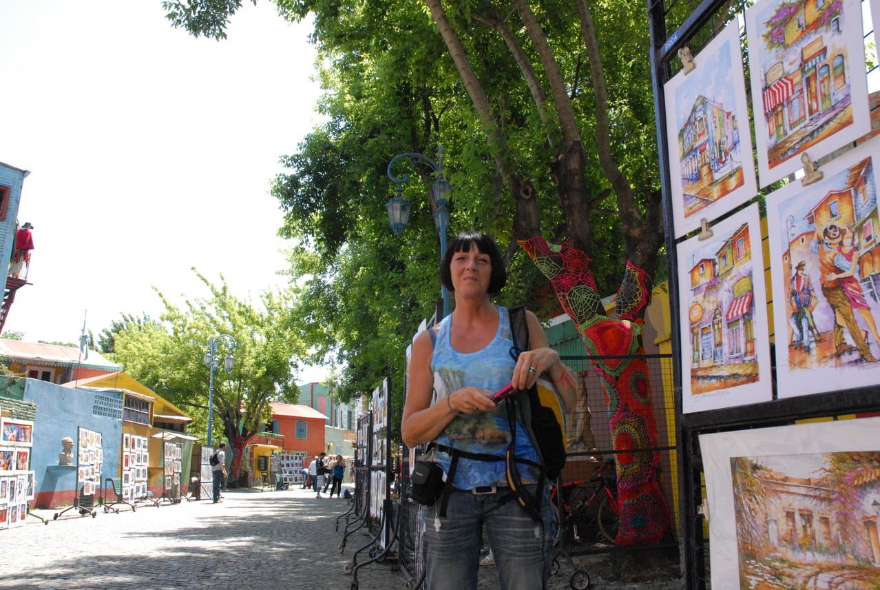 Auf dem Künstlermarkt