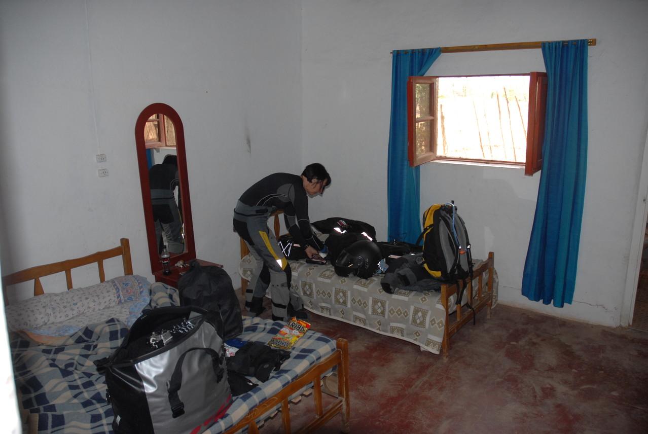 Das Zimmer im Hotel in Barreal