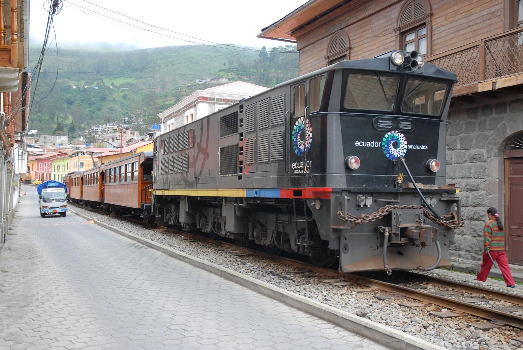 Es fährt ein Zug nach Nirgendwo ... bzw. zum Nariz del Diablo