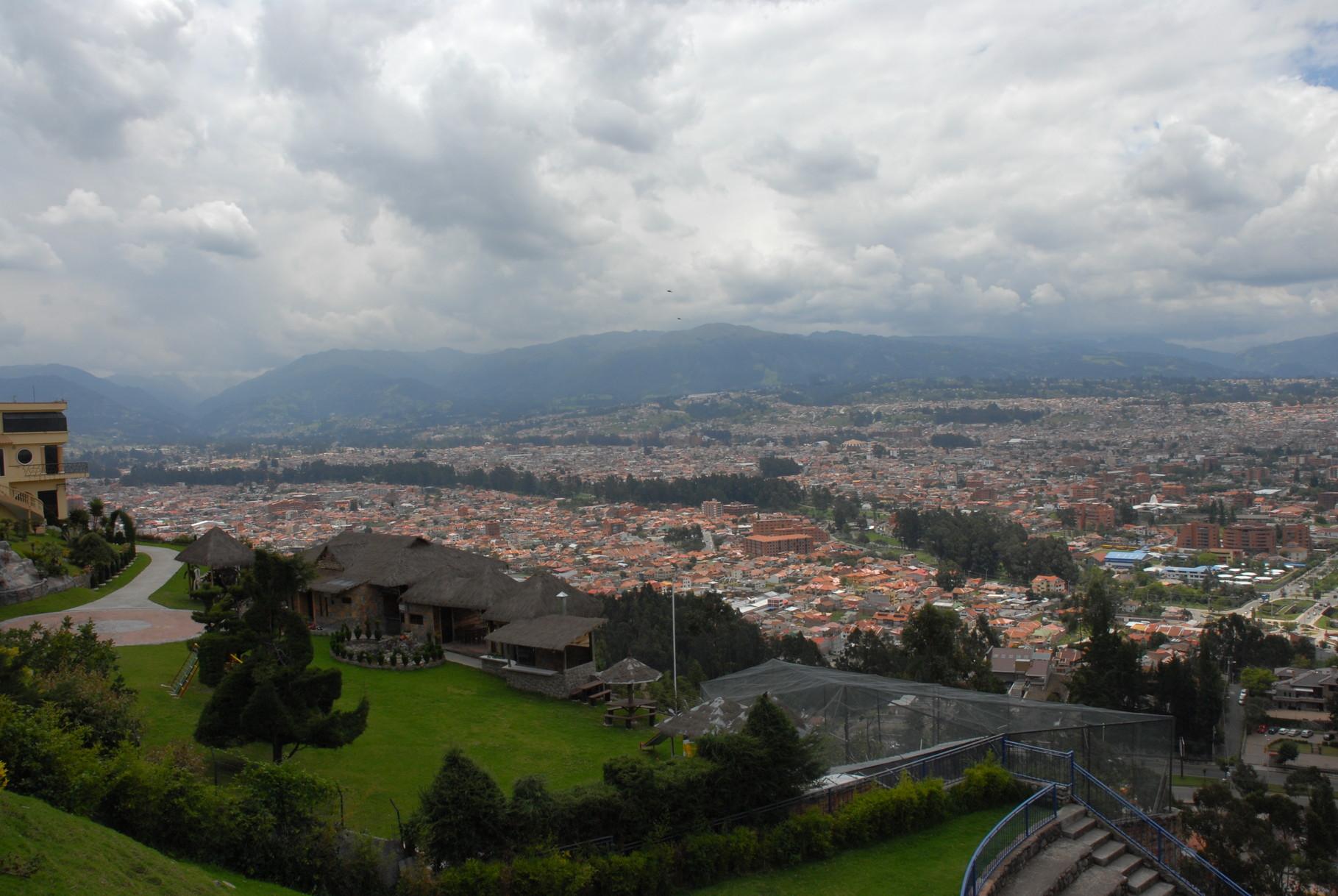 ... und der Süden von Cuenca