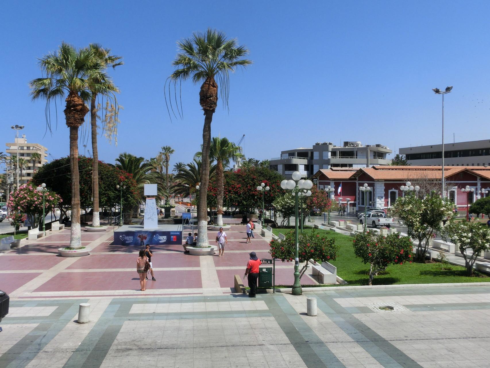 Nochmals Plaza