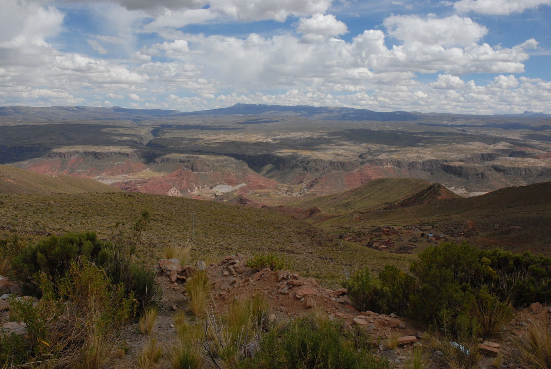 ... mit dem Grand Canyon ...