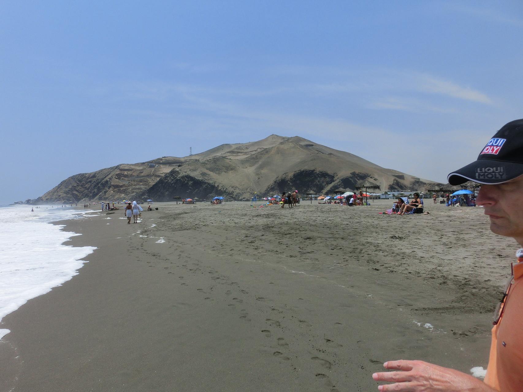 Beim Strandspaziergang in Puerto Viejo