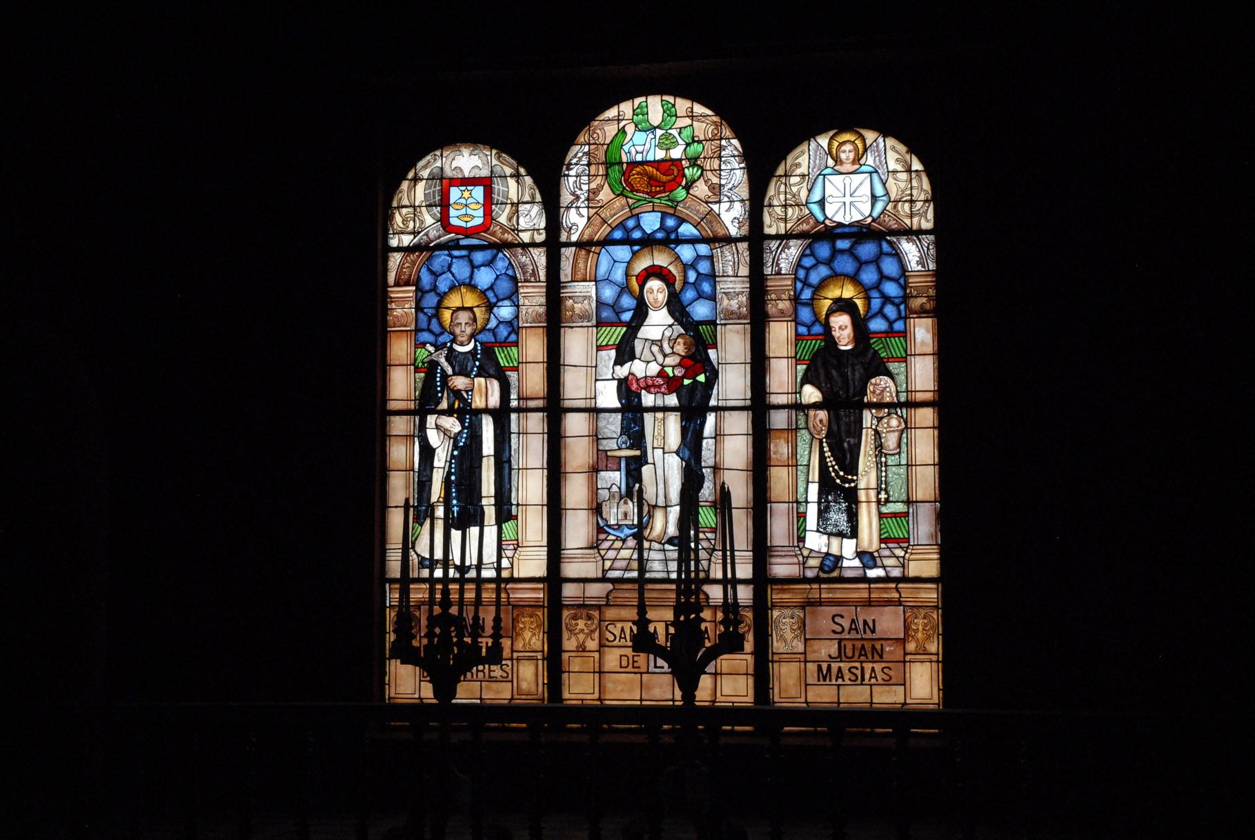 Schöne Fenster in der Kirche