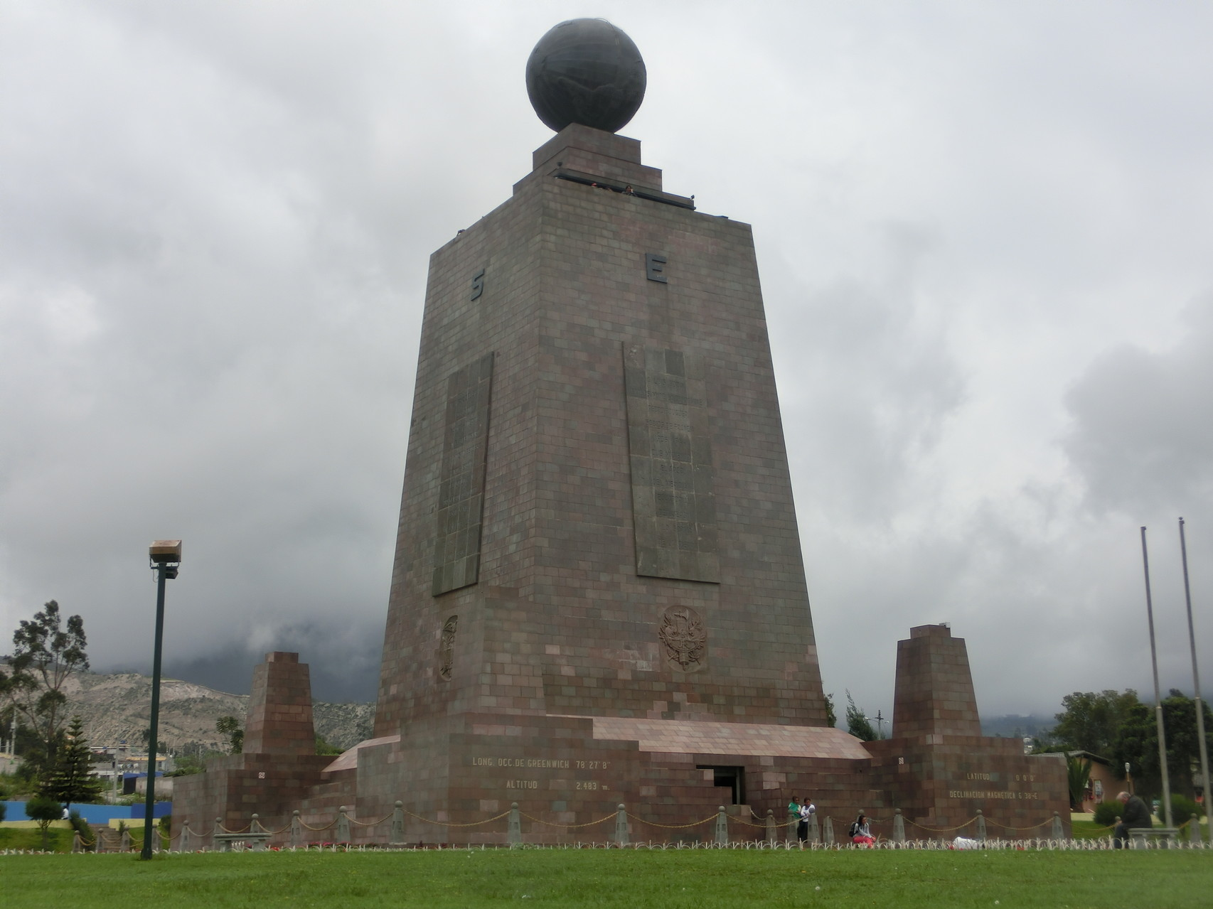 Das Monument, das u.a. auch ein Museum beinhaltet