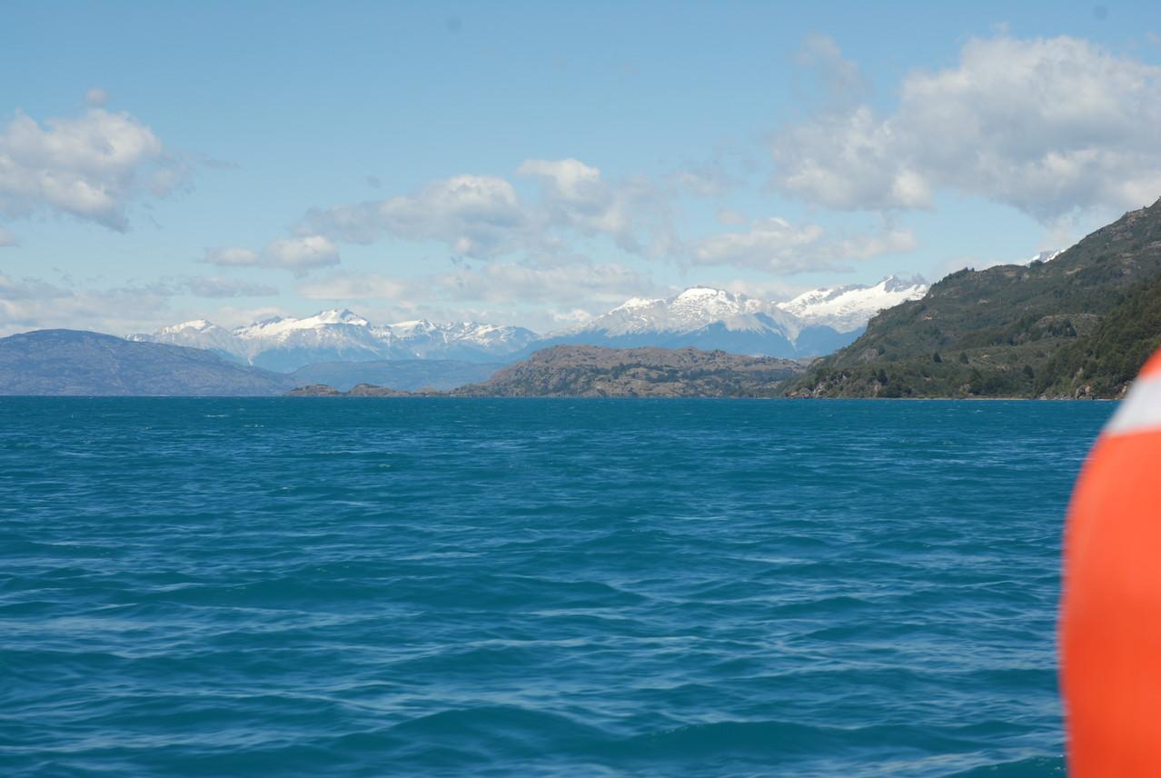 Blick über den Lago General Carrera