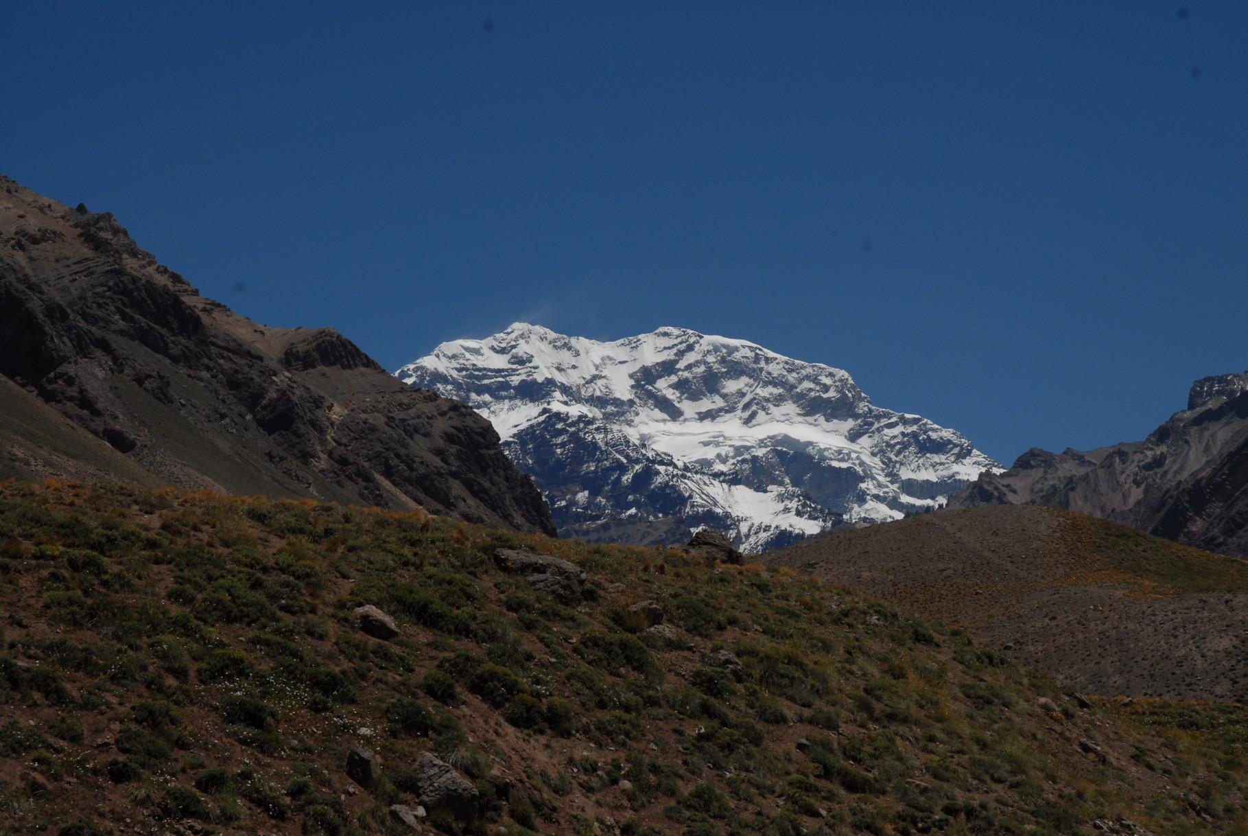 ... der Aconcagua mit 6962 Metern