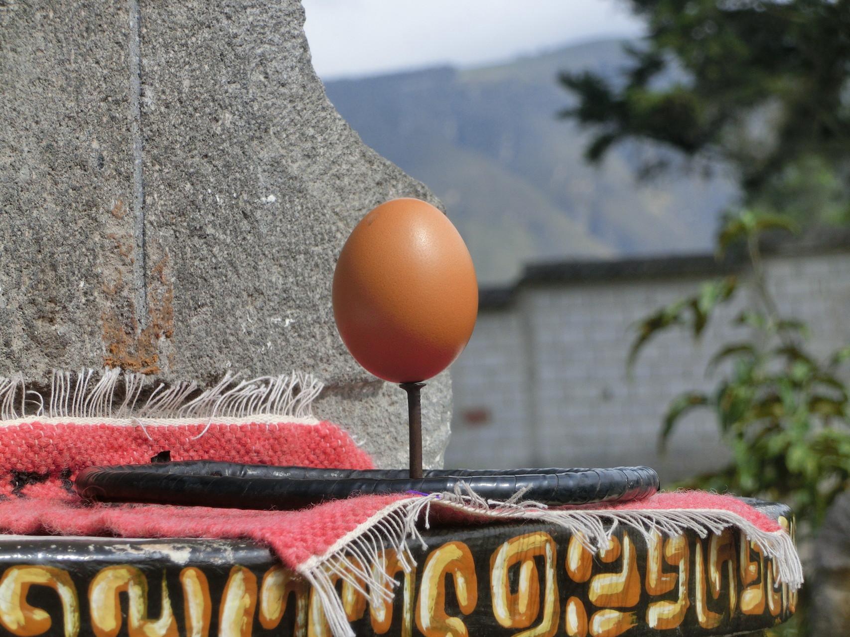 Da bleibt selbst ein Ei stehen