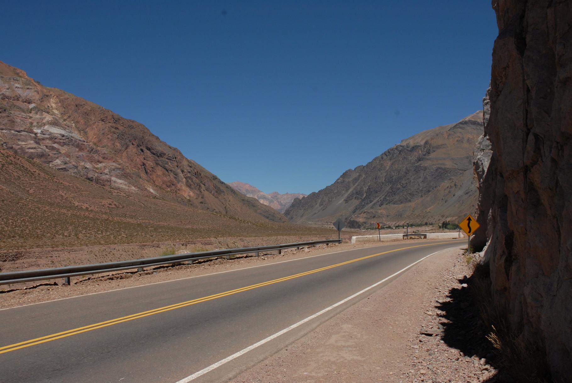 .. zur argentinisch/chilenischen Grenze