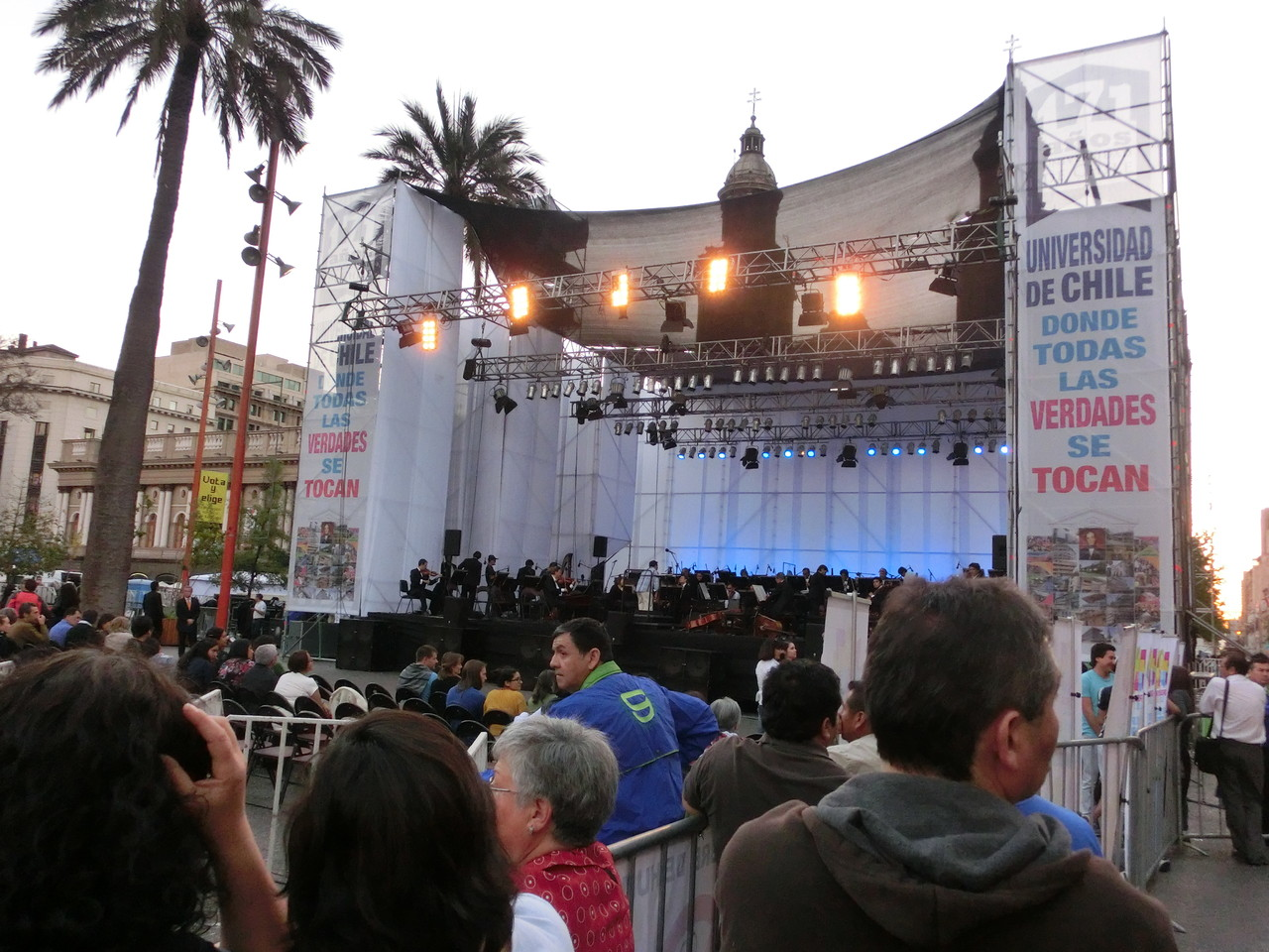 171-jähriges Jubiläum der Universidad Santiago